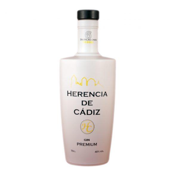 botella Herencia de Cádiz Gin Premium
